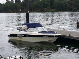 Speed Boat Bowrider Regal 176 se valanti
