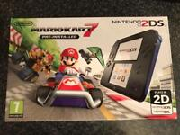 2DS BRAND NEW with mario kart
