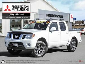 2014 Nissan Frontier PRO-4X! CREW! LEATHER! SUNROOF! NAV!