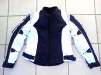 Ladies, waterproof, armored, thermal, motorcycle jacket Spada size L
