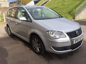 VOLKSWAGEN TOURAN 1.9 SE TDI 5d 103 BHP SERVICE RECORD ( 7 STAMPS) 1 OWNER FROM NEW, 7 SEATS