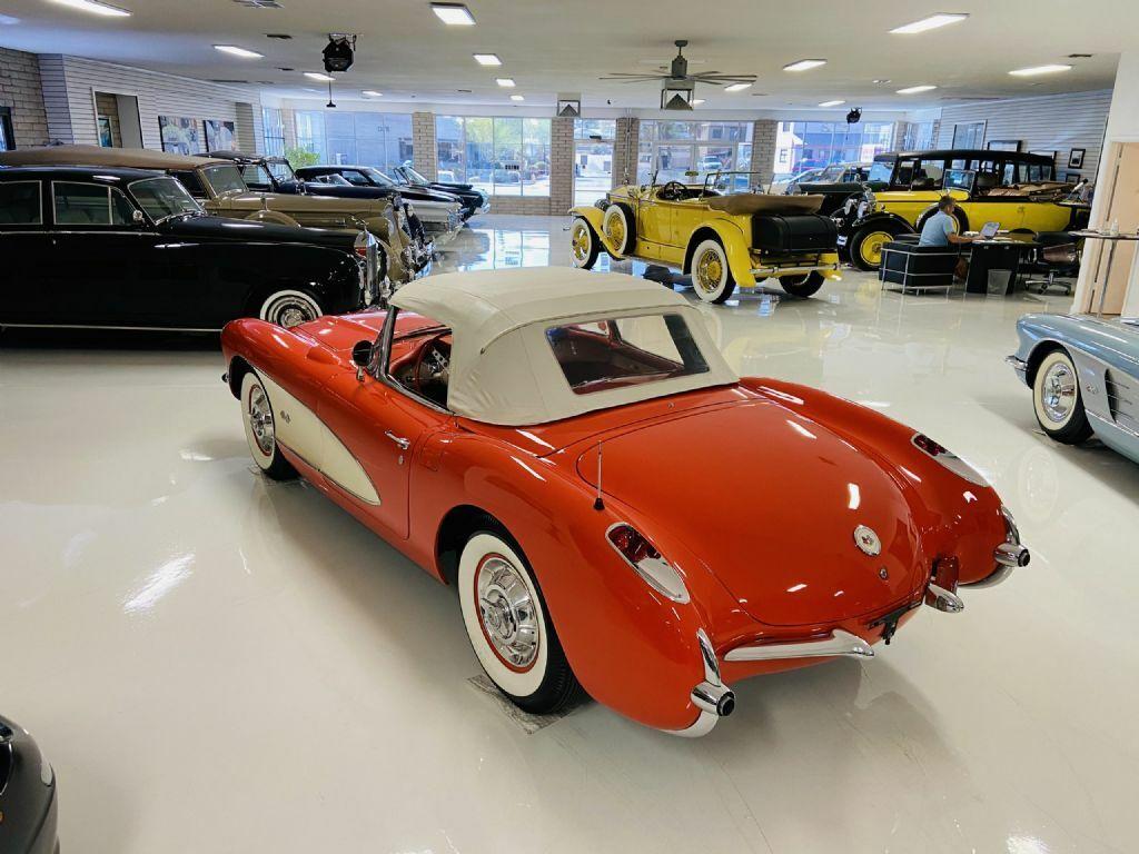 1957 Red Chevrolet Corvette     C1 Corvette Photo 7