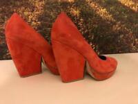 Retro 70's heels