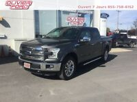 Ford F-150 lariat+cuir+toit pano+nav+a/c+mags 2015