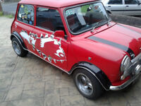 CLASIC MINI ITALIAN JOB LTD EDITION 1993 RED fully restored