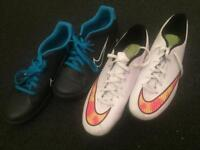 Uk10 Nike trainers and Astroturf trainers