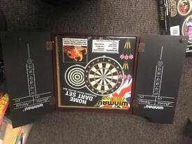 Brand new dart board set