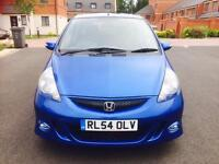AUTOMATIC HONDA JAZZ SE SPORT CVT 1.3 PETROL 5 DOORS WITH VERY LOW MILEAGE