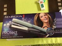 Remington protect hair straighteners new