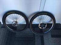 "REDUCED Hope/Mavic 26"" wheelset"