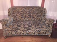 Antique early century Art Deco era French style sofa settee