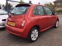 Nissan Micra Hatchback Red Petrol Manual, Sale/Finance Forthcarz
