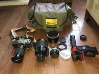 Canon AT-1 Camera Fully Loaded Pack $400 OBO
