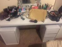 Large Dressing Table with draws and cupboard