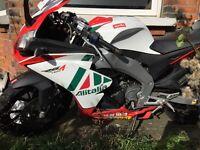 Aprilia RS4 125 must go £1900 Ono