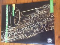 New Saxophone Music Book and Play along CD