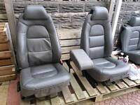 Saab 9000 Leather seats - suit camper t4, vivaro, vw etc
