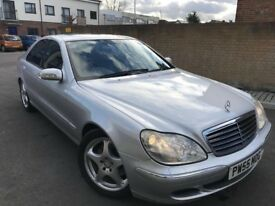 Mercedes-Benz S Class 2006 3.2 S320 CDI DIESEL ** 12 MONTH MOT ** 2 KEYS ** FULL SERVICE HISTORY **