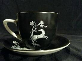 Crown Devon Pegasus cup and saucer