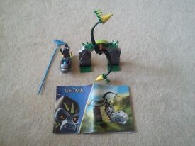 Lego Chima 70109 Whirling vines & 70001 Crawley's Claw Ripper