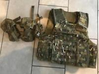 Osprey MK IVA Vest Cover and accessories. Airsoft or Paintball as New