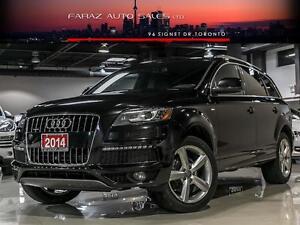 2014 Audi Q7 TDI|S-LINE|NAVI|REAR CAMERA|LOADED