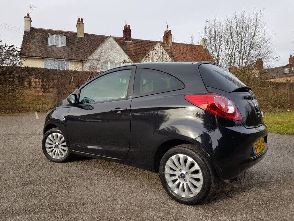 2013 Ford KA 13 Petrol Zetec Start And Stop Model Top Specs Air Con 48k Miles Immaculate Car