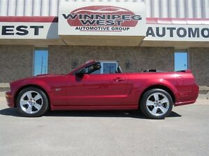2007 Ford Mustang GT CONVERTIBLE, ONLY 36K KMS, LEATHER, SHAKER