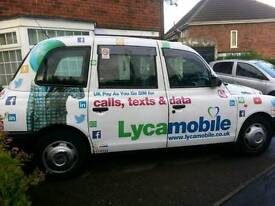 Hackney carriage taxi leicester