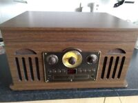 Multi function record player.