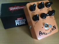 Rocktronics / Joyo American Sound amp simulator pedal - Tech 21 Blonde 57 Tweed clone