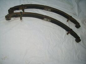 Landrover Series Parabolic Rear Leaf Springs Almost New