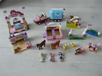 Lego Friends 41057 and 3186 mix of 2 sets