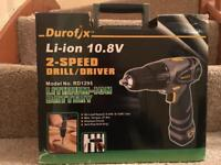 Durofix 2-speed drill/drive