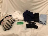Ski clothing bundle.