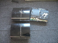 *** 3 ps3 CONSOLES SPAIRS AND REPAIRS ****