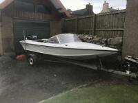 Fletcher 15ft speed boat