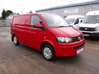 **CROSSGAR COMMERCIALS** VOLKSWAGEN TRANSPORTER T28 TRENDLINE 140 BHP 58507 MILES ONE OWNER