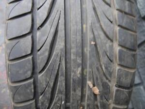 3 USED TIRES - P265/30/22 FALKEN ZIEX FK452 - GOOD TREAD - 3 ONLY