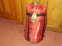 Unused Eurohike Adventurer 400, 4 seasons sleeping bag
