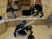 Chico urban 3 in 1 complete travel system