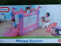 Little Tikes Pink Princess Bouncer (used once)