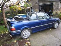1994 Rover 216 Cabriolet 1.6 Automatic MOT August 2017