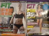 Various fitness magazine's - some specifically aimed at women in the title - job lot