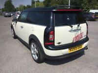 2010 mini cooper clubman 1.6 6 speed chill pack half leathers fully luaded cool car sexy alp white