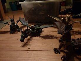 Megabloks Dragons, Draigar Castle and Warriors Fortress