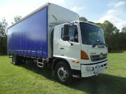 Hino GH 1727-500 Series  Curtainsider Rocklea Brisbane South West Preview