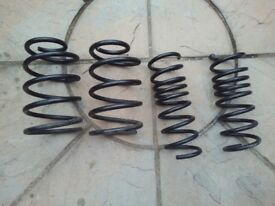 Lowered Coil Springs