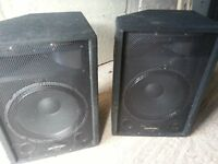 Phonic SEM715 2 Way Stage/Floor Monitor Speakers