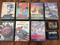 FREE: Sega Megadrive II + Controllers + Games